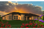 Southwestern House Plan Rear Photo 01 - Faracci Italian Luxury Home 051D-0825 | House Plans and More
