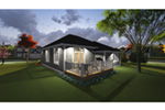 Santa Fe House Plan Rear Photo 01 - Elisa Craftsman Ranch Home 051D-0826 | House Plans and More