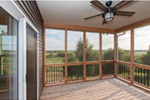 Sunbelt Home Plan Deck Photo 01 - Sereno Italian Ranch Home 051D-0831 | House Plans and More