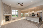 Sunbelt Home Plan Great Room Photo 03 - Sereno Italian Ranch Home 051D-0831 | House Plans and More