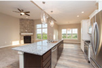 Sunbelt Home Plan Kitchen Photo 02 - Sereno Italian Ranch Home 051D-0831 | House Plans and More