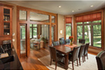 Traditional House Plan Dining Room Photo 01 - Owen Point Craftsman Home 051D-0915   House Plans and More