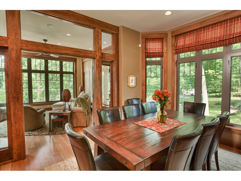 Traditional House Plan Dining Room Photo 02 - Owen Point Craftsman Home 051D-0915   House Plans and More