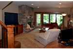Traditional House Plan Family Room Photo 01 - Owen Point Craftsman Home 051D-0915   House Plans and More