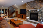 Traditional House Plan Family Room Photo 02 - Owen Point Craftsman Home 051D-0915   House Plans and More