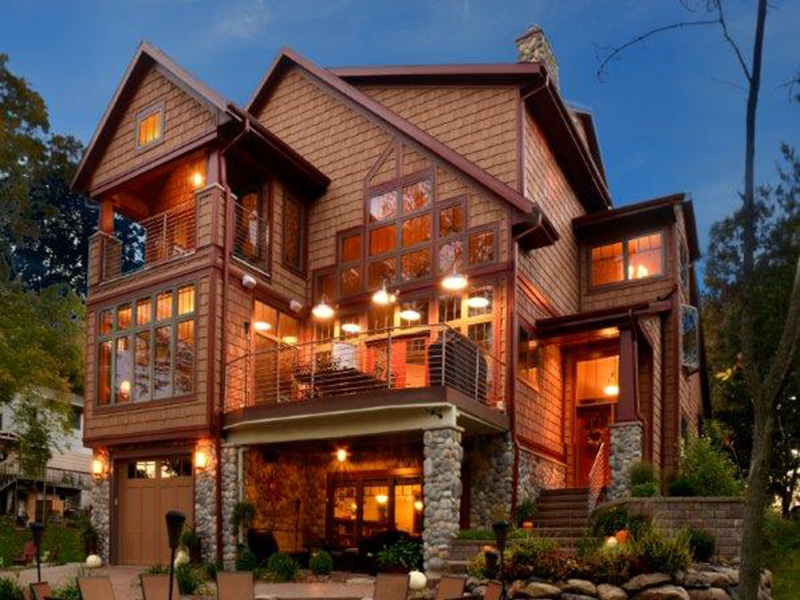 Traditional House Plan Front Photo 03 - Owen Point Craftsman Home 051D-0915   House Plans and More
