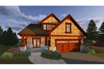 Traditional House Plan Front Photo 05 - Owen Point Craftsman Home 051D-0915   House Plans and More