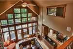 Traditional House Plan Great Room Photo 04 - Owen Point Craftsman Home 051D-0915   House Plans and More