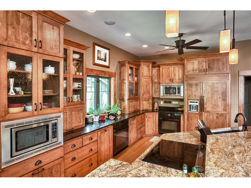 Traditional House Plan Kitchen Photo 01 - Owen Point Craftsman Home 051D-0915   House Plans and More