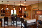 Traditional House Plan Kitchen Photo 02 - Owen Point Craftsman Home 051D-0915   House Plans and More