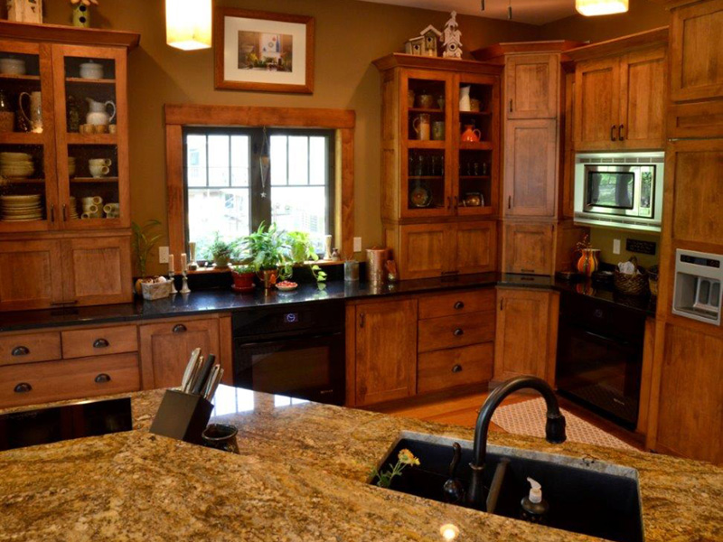 Traditional House Plan Kitchen Photo 04 - Owen Point Craftsman Home 051D-0915   House Plans and More
