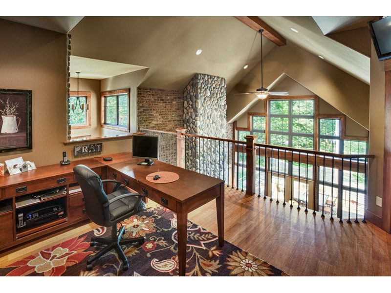 Traditional House Plan Loft Photo 01 - Owen Point Craftsman Home 051D-0915   House Plans and More