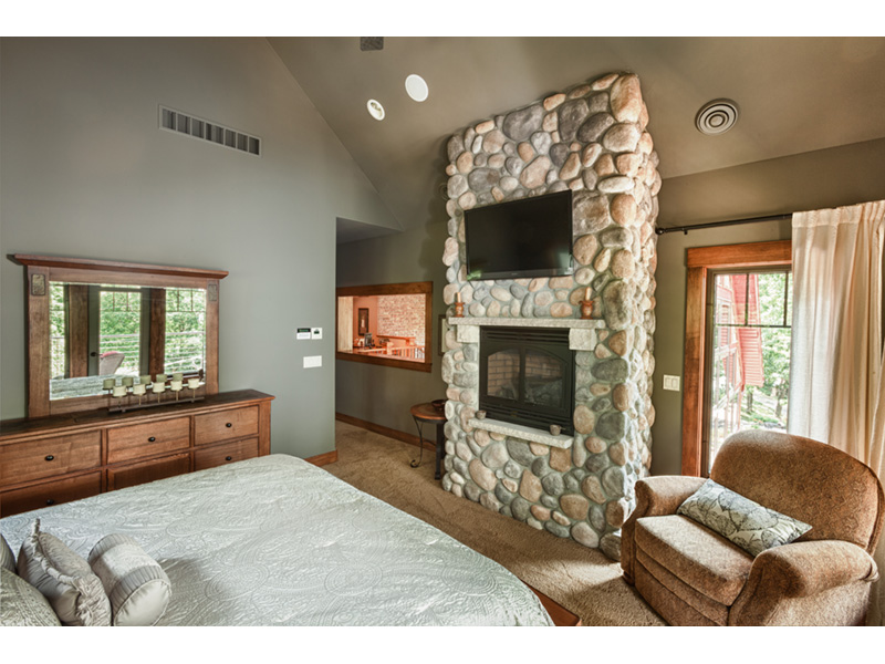 Traditional House Plan Master Bedroom Photo 02 - Owen Point Craftsman Home 051D-0915   House Plans and More