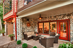 Traditional House Plan Patio Photo - Owen Point Craftsman Home 051D-0915   House Plans and More