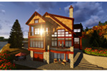 Traditional House Plan Rear Photo 02 - Owen Point Craftsman Home 051D-0915   House Plans and More