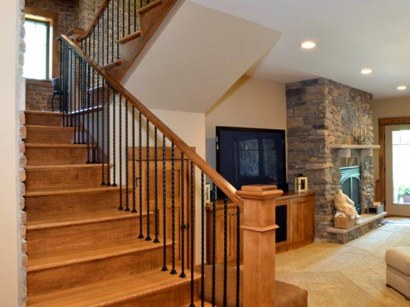 Traditional House Plan Stairs Photo 01 - Owen Point Craftsman Home 051D-0915   House Plans and More