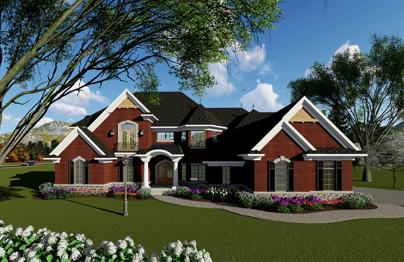 Front of Home -  051D-0940 | House Plans and More