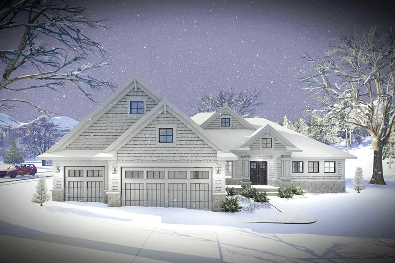 Roberts Modern Craftsman Home Plan 051d