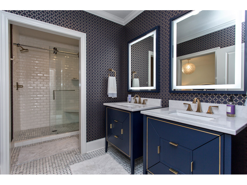 Country French House Plan Bathroom Photo 01 - Olson Crossing Ranch Home 051D-0960 | House Plans and More