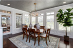 Country French House Plan Dining Room Photo 01 - Olson Crossing Ranch Home 051D-0960 | House Plans and More