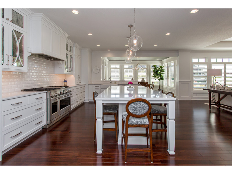 Country French House Plan Kitchen Photo 04 - Olson Crossing Ranch Home 051D-0960 | House Plans and More