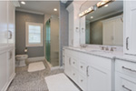 Country French House Plan Master Bathroom Photo 01 - Olson Crossing Ranch Home 051D-0960 | House Plans and More