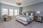 Country French House Plan Master Bedroom Photo 01 - Olson Crossing Ranch Home 051D-0960 | House Plans and More