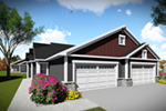 Multi-Family House Plan Front of Home -  051D-0966 | House Plans and More