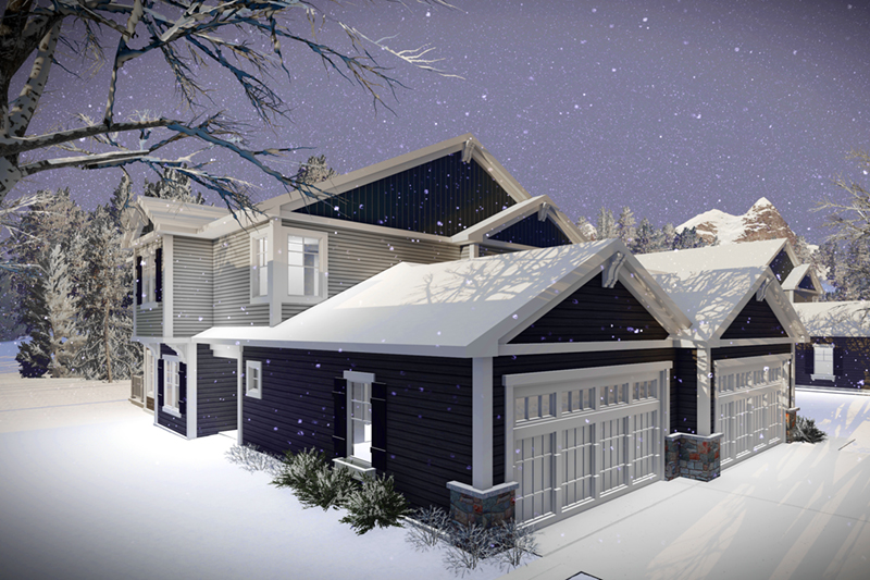Country House Plan Front of Home -  051D-0967   House Plans and More
