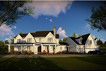 Craftsman House Plan Front Image - Mulberry Lane Luxury Home  051D-0989 | House Plans and More