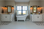Craftsman House Plan Master Bathroom Photo 01 - Mulberry Lane Luxury Home  051D-0989 | House Plans and More