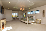 Craftsman House Plan Master Bedroom Photo 01 - Mulberry Lane Luxury Home  051D-0989 | House Plans and More
