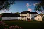 Craftsman House Plan Rear Photo 01 - Mulberry Lane Luxury Home  051D-0989 | House Plans and More