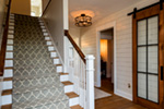 Craftsman House Plan Stairs Photo 02 - Mulberry Lane Luxury Home  051D-0989 | House Plans and More
