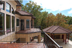 European House Plan Deck Photo 01 - 051D-0994 | House Plans and More