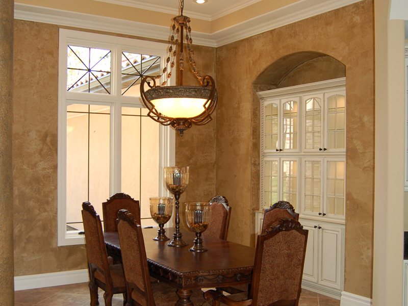 European House Plan Dining Room Photo 01 - 051D-0994 | House Plans and More