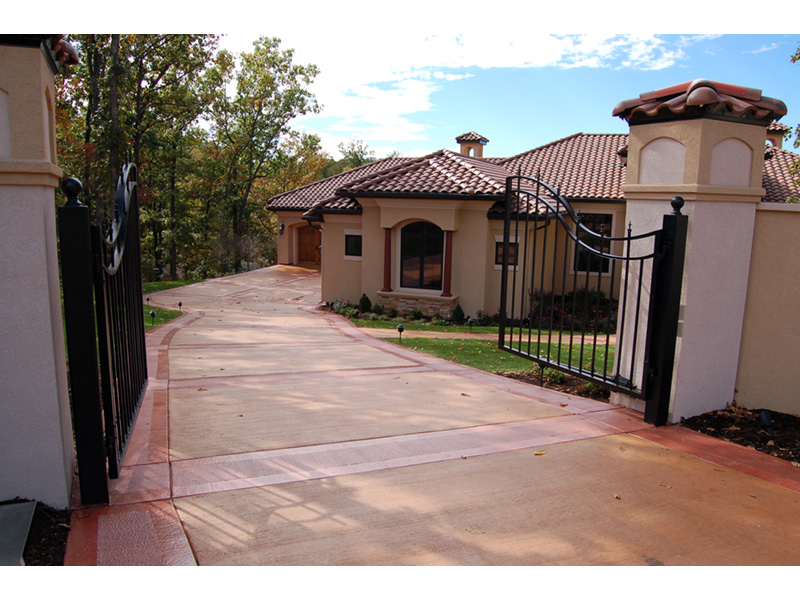 Southwestern House Plan Driveway Photo - 051D-0994 | House Plans and More