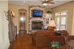 European House Plan Family Room Photo 01 - 051D-0994 | House Plans and More