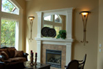 European House Plan Fireplace Photo 01 - 051D-0994 | House Plans and More
