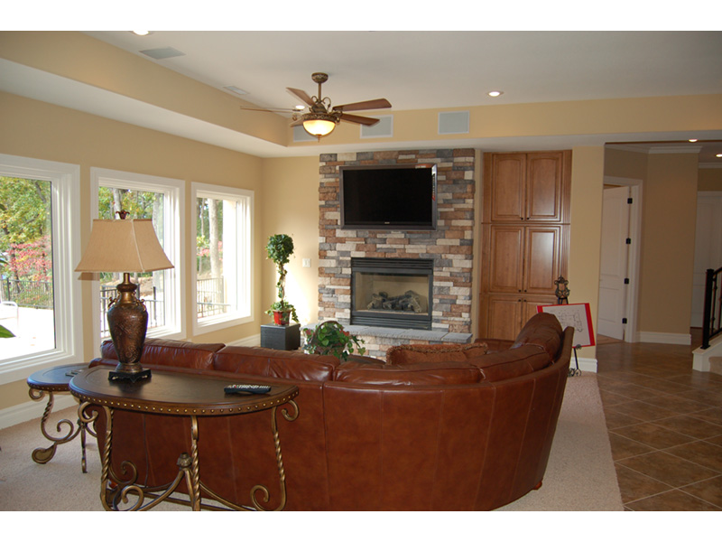 Southwestern House Plan Fireplace Photo 02 - 051D-0994 | House Plans and More