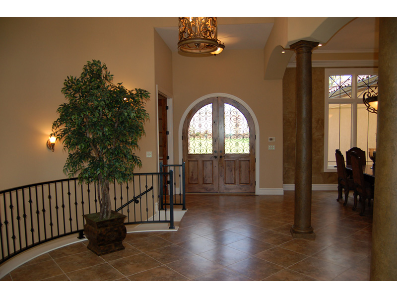 European House Plan Foyer Photo - 051D-0994 | House Plans and More