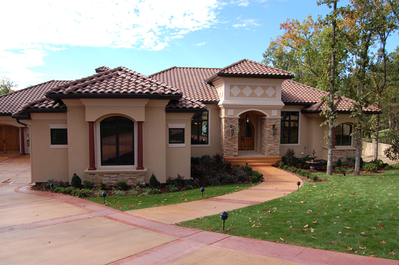 Southwestern House Plan Front of Home - 051D-0994 | House Plans and More