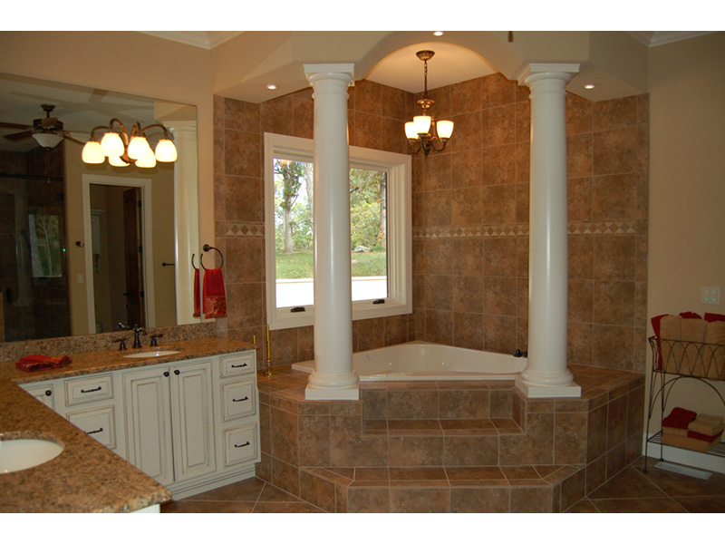 Southwestern House Plan Master Bathroom Photo 01 - 051D-0994 | House Plans and More