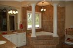 European House Plan Master Bathroom Photo 01 - 051D-0994 | House Plans and More