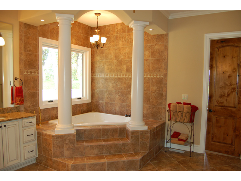 Southwestern House Plan Master Bathroom Photo 02 - 051D-0994 | House Plans and More