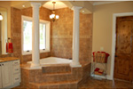 European House Plan Master Bathroom Photo 02 - 051D-0994 | House Plans and More