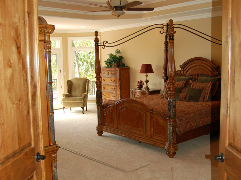 European House Plan Master Bedroom Photo 01 - 051D-0994 | House Plans and More