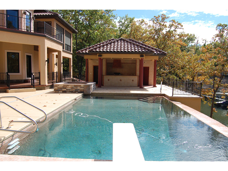 Southwestern House Plan Outdoor Living Photo 01 - 051D-0994 | House Plans and More