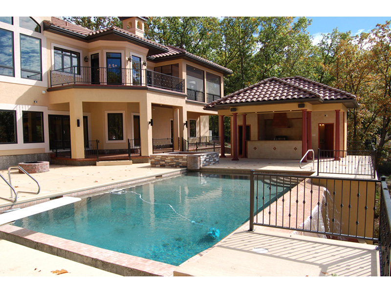 European House Plan Pool Photo - 051D-0994 | House Plans and More