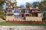 Southwestern House Plan Rear Photo 04 - 051D-0994 | House Plans and More